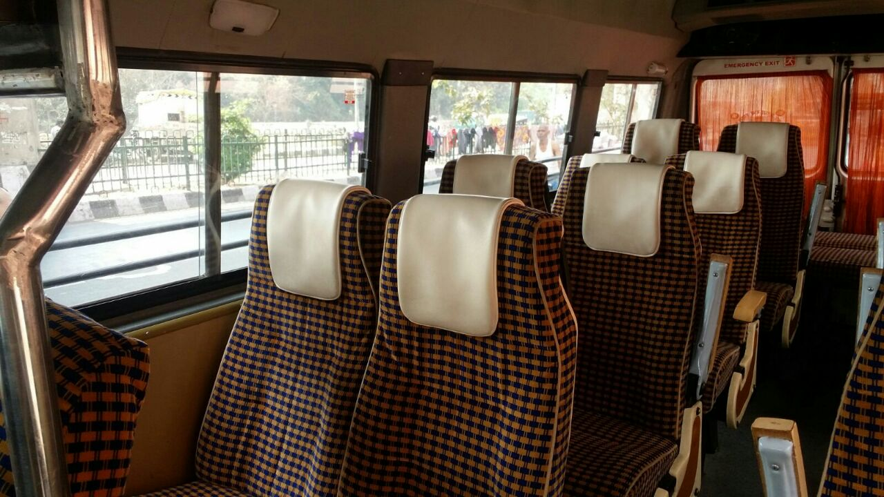 9  Seater Normal Tempo Traveller Hire