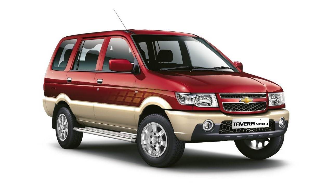 Chevrolet Tavera Luxury Hire Taxi